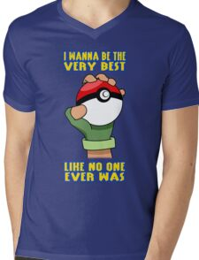 Pokemon - Be The Very Best Mens V-Neck T-Shirt