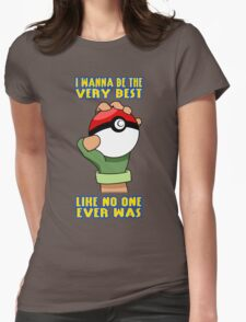 Pokemon - Be The Very Best Womens Fitted T-Shirt