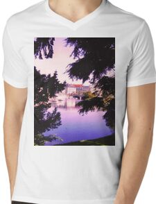 View through the Trees Mens V-Neck T-Shirt