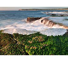 Shoreline at Maroubra Photographic Print