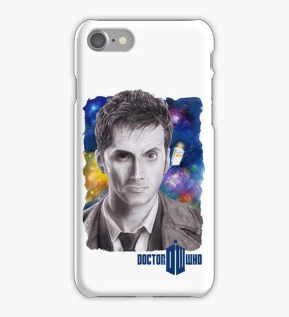 Doctor Who No.10 - David Tennant 2 iPhone Case/Skin
