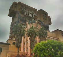 Tower of Terror at Disney California Adventure by nuwisha