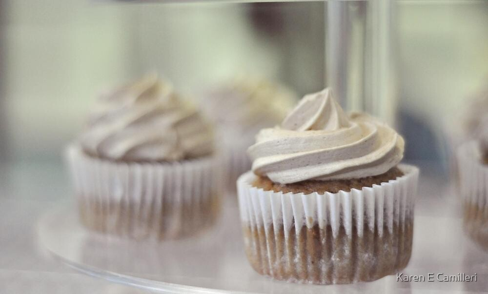 cupcakes  by Karen E Camilleri