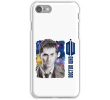 David Tennant Doctor Who D/S Mug iPhone Case/Skin