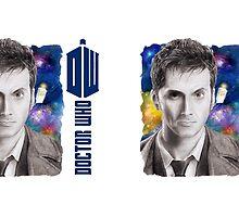 David Tennant Doctor Who D/S Mug by Dacdacgirl
