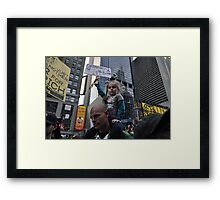We Are The 99%!!!!!!! Framed Print