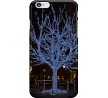 Blue Xmas Tree iPhone Case iPhone Case/Skin