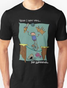 No Worries - Reverse Out Unisex T-Shirt