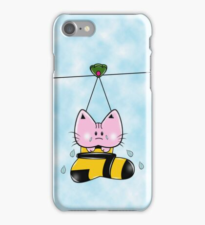 Kitty Sock iPhone Case/Skin