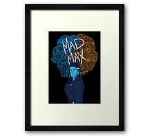 "Mel Gibson ""Mad Max"" (Transparent) Framed Print"