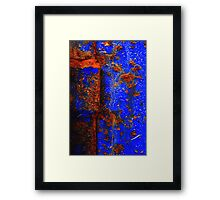 Moroccan Rust I Framed Print