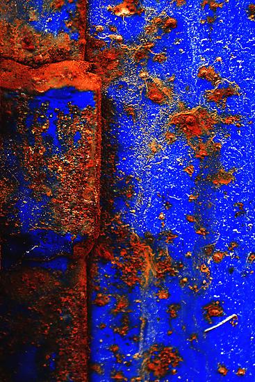 Moroccan Rust I by Damienne Bingham