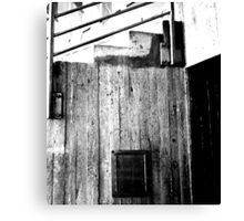 Down & Out Canvas Print