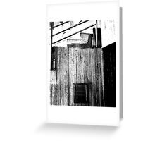 Down & Out Greeting Card