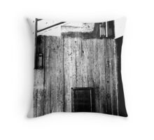 Down & Out Throw Pillow