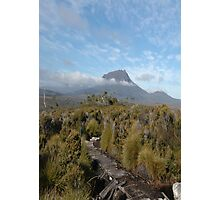 Mt Ossa in Cloud Photographic Print
