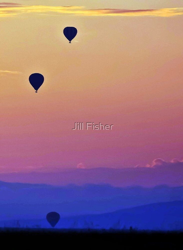 Up, Up and Away by Jill Fisher
