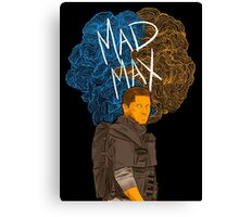 "Tom Hardy ""Mad Max"" (Transparent) Canvas Print"