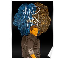 "Tom Hardy ""Mad Max"" (Transparent) Poster"
