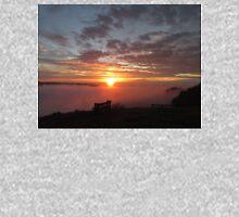 Long Ridge Foggy Sunset  Hoodie