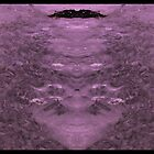 Purpleized Sea Painting Now Mirrored With Itself In An Inversed, Heart-shaped Kind Of Way by ArtOfE