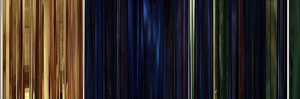Moviebarcode: The Animatrix 1 Final Flight of the Osiris (2003) by moviebarcode