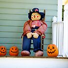 Scarecrow and His Buddies by TJ Baccari Photography
