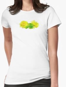 Yellow and Green Mums T-Shirt