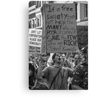 Occupy 2 Canvas Print