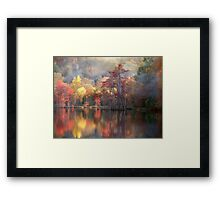 Spicy Fall Color Framed Print