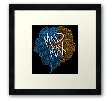 Mad Max Design (Transparent) Framed Print