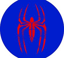 Spider-Man Segmented Logo (classic colors) circle by JoshBeck