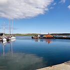 """Lerwick Harbour"", Shetland Islands, UK by Kelly Sutherland"