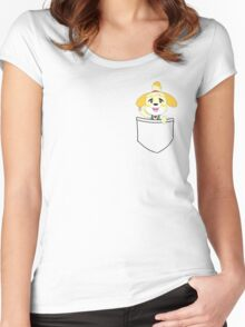 Pocket Isabelle Women's Fitted Scoop T-Shirt