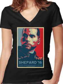 Shepard '16 Women's Fitted V-Neck T-Shirt