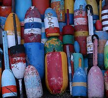 Bouys No Gulls by Mike Martin