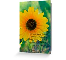 Restful Mind  Greeting Card