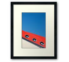 Liner Framed Print
