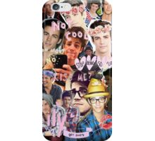 Grant Gustin Collage iPhone Case/Skin