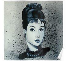 """""""Audrey hepburn"""" Poster"""