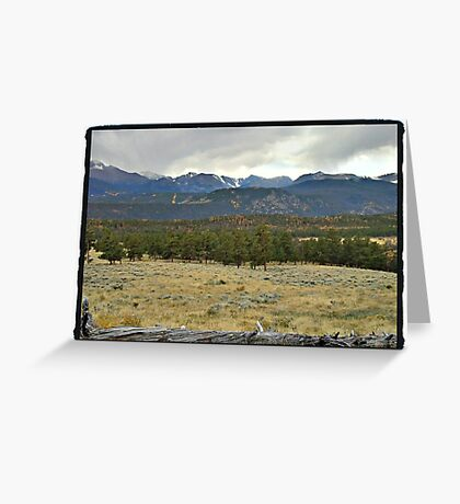 Rocky Mountain Park Greeting Card