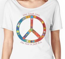 Live, Laugh, Love Women's Relaxed Fit T-Shirt