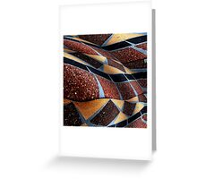 Tablestract Greeting Card