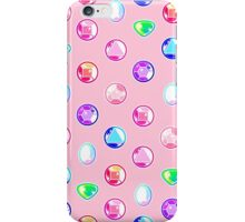 Crystal Gems Pattern iPhone Case/Skin