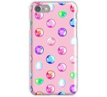 Crystal Gems Pattern iPhone Case/Skin