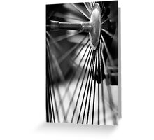 Bike Spokes Greeting Card