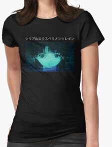 Serial Experiments L (2) Womens Fitted T-Shirt