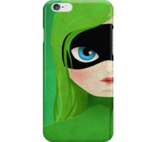 WonderGirl Green iPhone Case/Skin