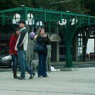 Bus Station by Rene Fuller
