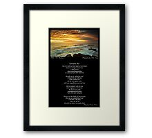 ~ Consume Me ~ A collaboration with Mark Lucey ~ Framed Print